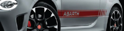 Abarth Side Stripes