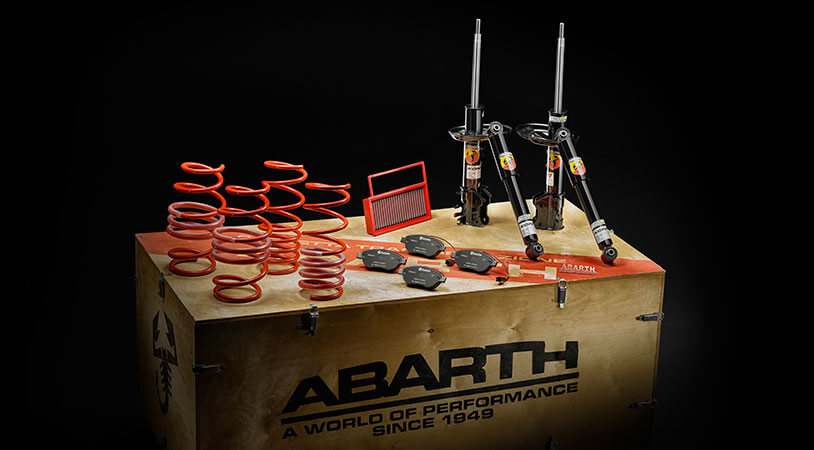 abarth assorted custom conversion kits and accessories. Black Bedroom Furniture Sets. Home Design Ideas