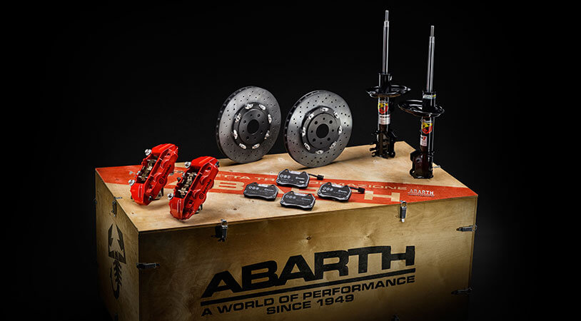 Abarth orted Custom Conversion Kits and Accessories | Abarth on